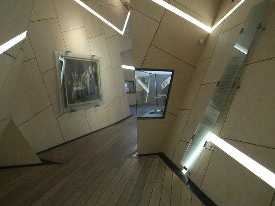 Inside of the Danish Jewish Museum