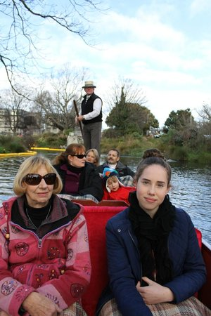 Punting on the Avon : Punting