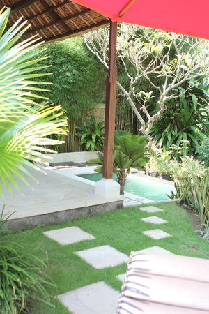 Leha Leha Villa: Mini pool