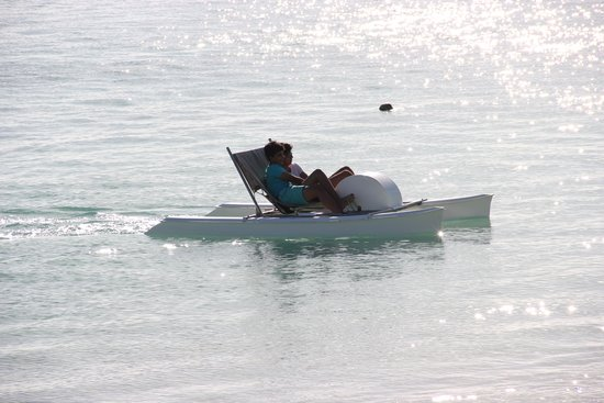 Trou aux Biches Beachcomber Golf Resort & Spa : Paddle boat