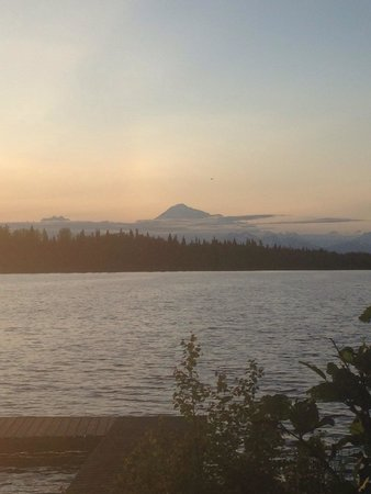 North Country Bed and Breakfast: Beautiful view of Denali!