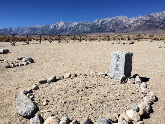 Manzanar National Historic Site: Manzanar cemetery