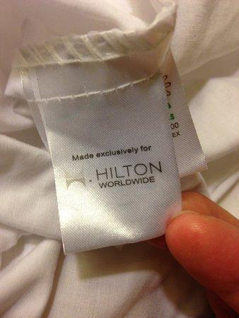 Hilton Garden Inn Richmond Innsbrook: Hilton Brand linen