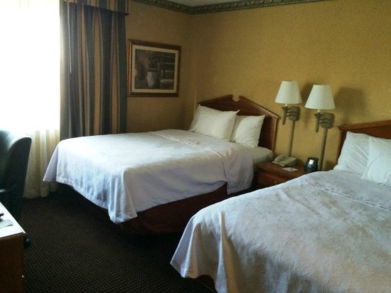 Homewood Suites by Hilton Boston-Peabody: Bedroom of the suite (2 Queen beds)