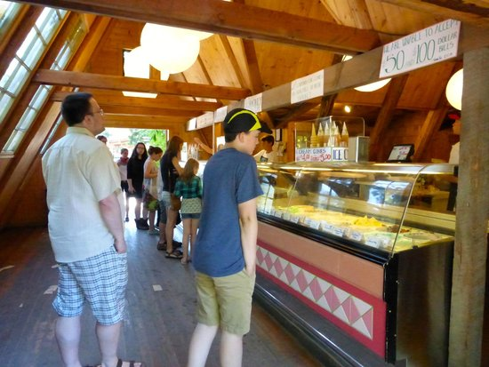 Coombs Ice Cream Parlour: Great ice cream selection