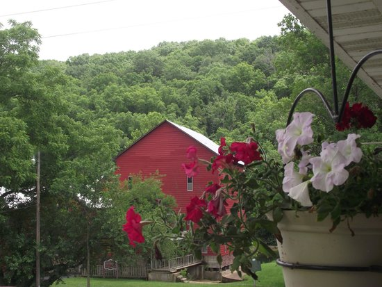 Rockbridge Mill, view from porch of restaurant