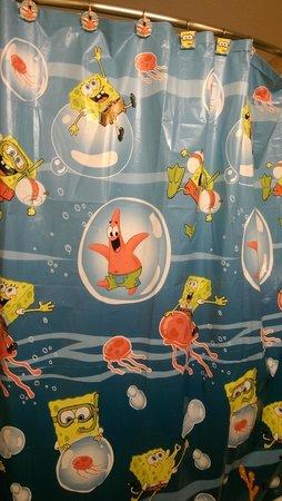 Holiday Inn Hotel & Conference Center: we love sponge bob!