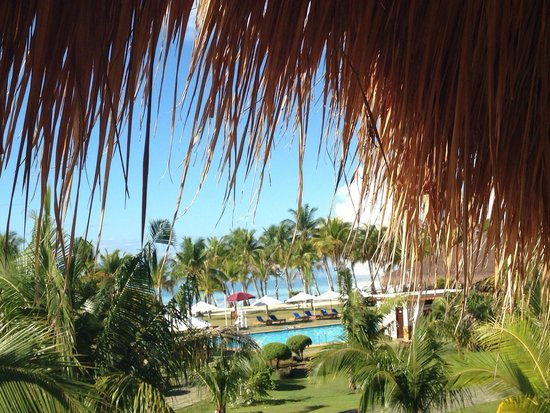 Bohol Beach Club: The view from our room