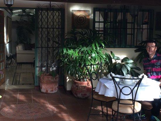 Tierra Magica Bed & Breakfast / Art Studio: Terrasse 2