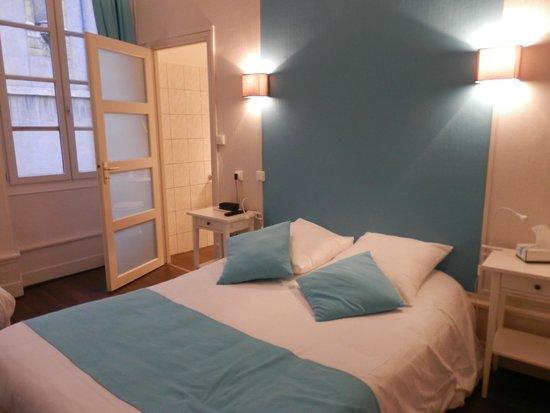 Hotel Du Palais: とてもかわいらしい部屋です
