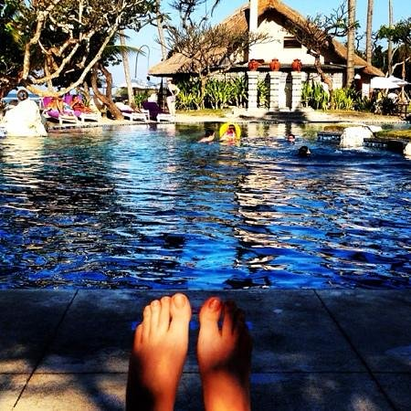 Nusa Dua Beach Hotel & Spa: my poolside view