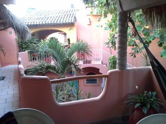 Bungalow's Jaqueline: La terrasse