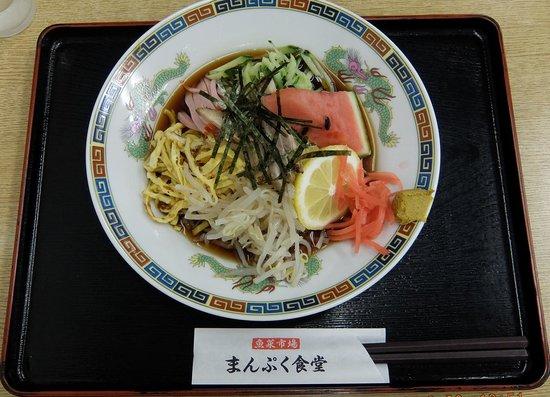 Manpuku Shokudo : 冷やし中華~930円