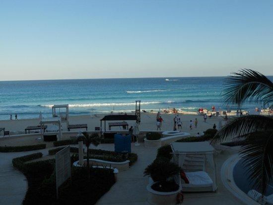 Sandos Cancun Luxury Resort: plage