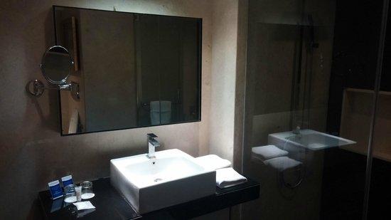 Davanam Sarovar Portico Suites: Bathroom