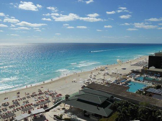 Sandos Cancun Lifestyle Resort : vue de notre chambre