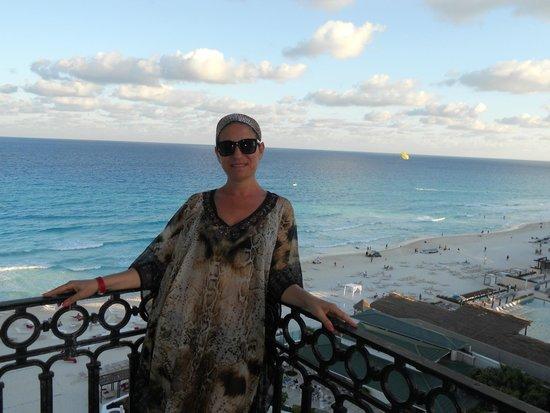 Sandos Cancun Lifestyle Resort : vue de ma chambre