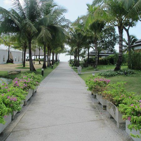Beyond Resort Khaolak: Walkway to the pool and beach