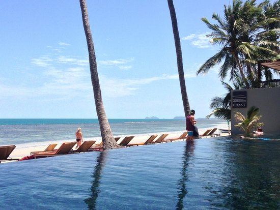 The COAST Resort - Koh Phangan : View from poolside