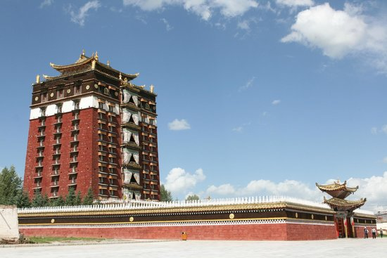 Hezuo, China: Milarepa Palace