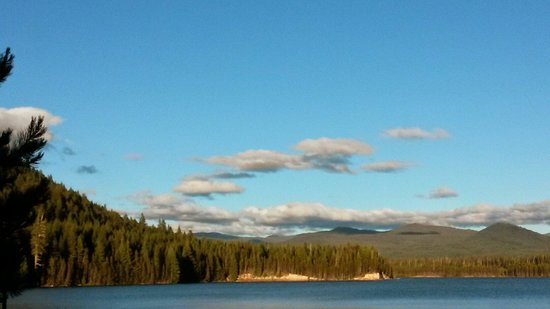 Lemolo Lake Resort 15 miles from Crater Lake.