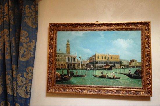 Residence Palazzo Odoni : Hallway Painting
