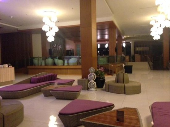 The Senses Resort: lobby area