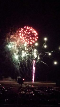 Atlanta Motor Speedway : 4th of July fireworks