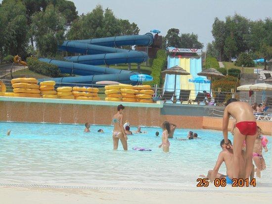 Hotel Club Costa Verde : The aqua park
