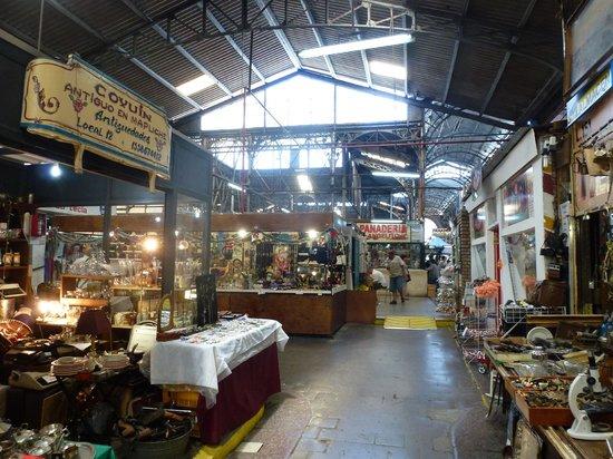 San Telmo market - indoors