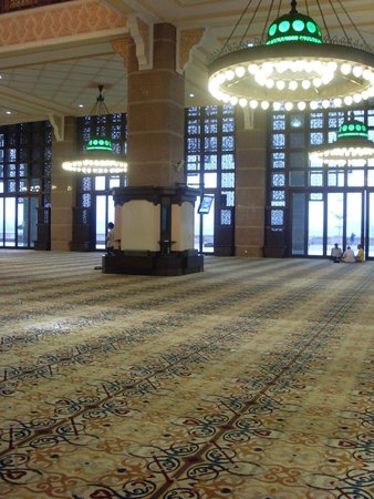 Putra Mosque: Inside the Mosque