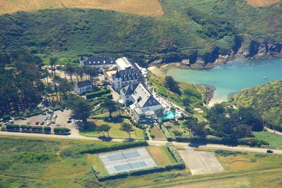 Castel Clara Thalasso & Spa : L'arrivée à l'hôtel