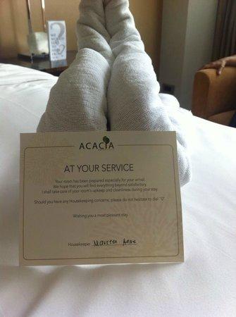 Acacia Hotel Manila: Card