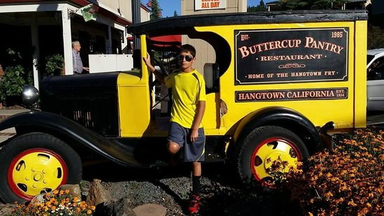 Buttercup Pantry: Restaurant entrance.