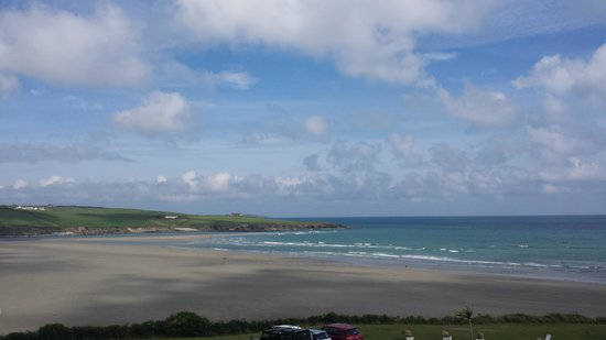 Inchydoney Island Lodge & Spa: Gorgeous view from balcony
