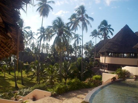 Ocean Paradise Resort & Spa : le parc