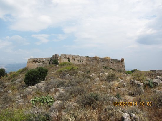 Palamidi Fortress; Nafplion, Greece - Picture of Palamidi ...