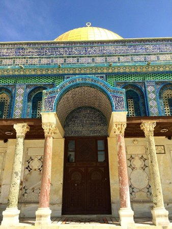Tempelberg: Dome of the Rock up close