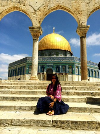 Tempelberg: Dome of the Rock inside Temple Mount