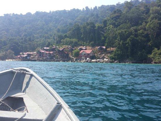 Panuba Inn Resort : Panuba Island - Speedboat View