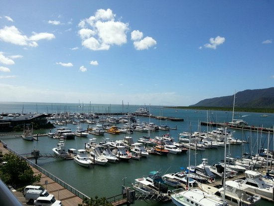 Shangri-La Hotel, The Marina, Cairns : View from room.