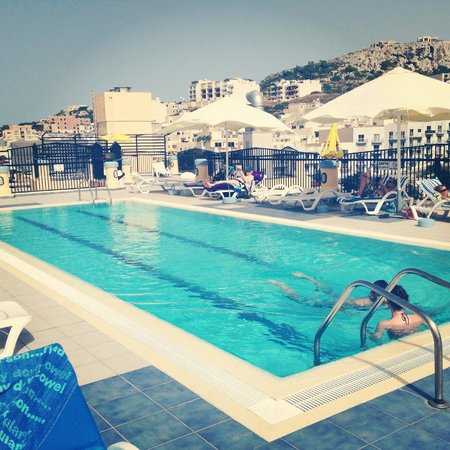 Luna Holiday Complex: rooftop pool