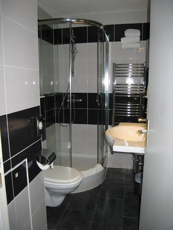 Quality Hotel Bordeaux Centre : Room 214, separate shower and toilet