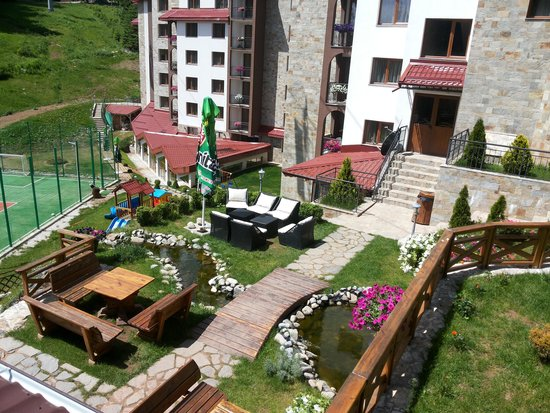 Kamelia Hotel Pamporovo : from the terrace on the barbecue