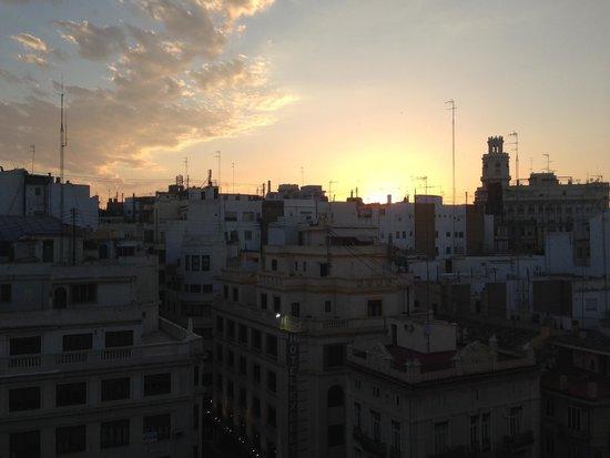 Ayre Hotel Astoria Palace : Sunset view