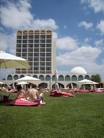 Crowne Plaza Vilamoura - Algarve : grassed area