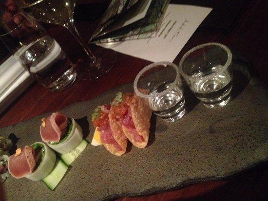 Sake Restaurant & Bar: Entrée
