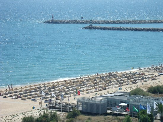 Crowne Plaza Vilamoura - Algarve : view from room 1126 top floor (lovely)
