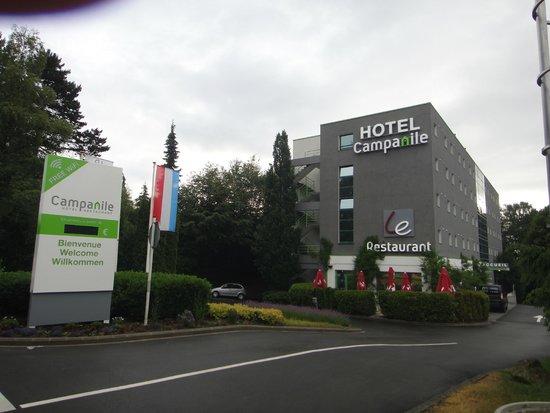 Campanile Luxembourg Airport: Vue générale de l'hôtel