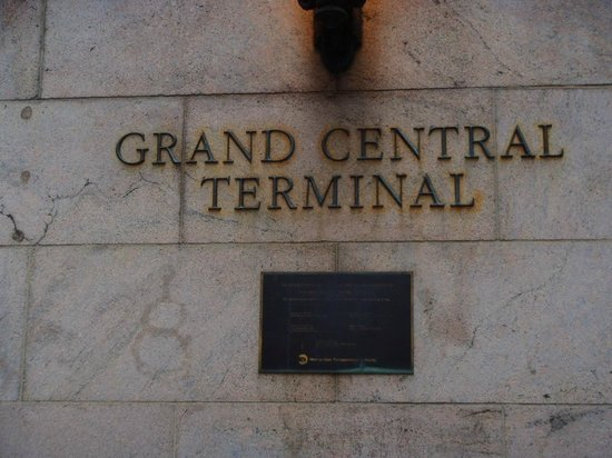 Grand Central Terminal: Sign